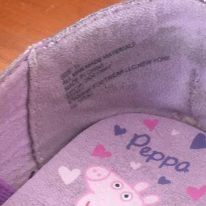 Shoes - Purple Peppa Pig ballet flats